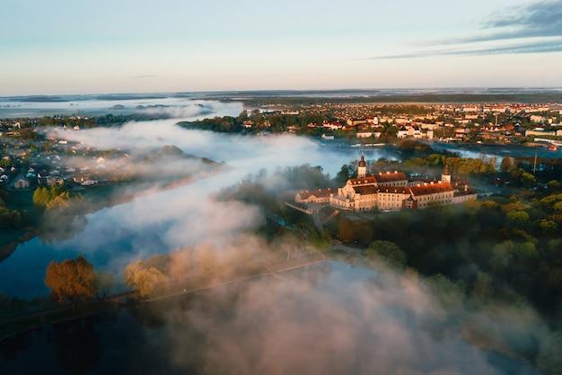 Het kasteel van nesvizh is een woonkasteel van de familie radziwill in nesvizh