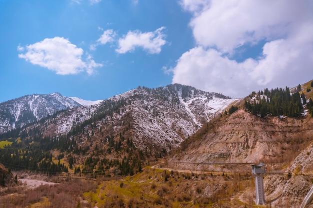 Het kaukasusgebergte is een natuurreservaat