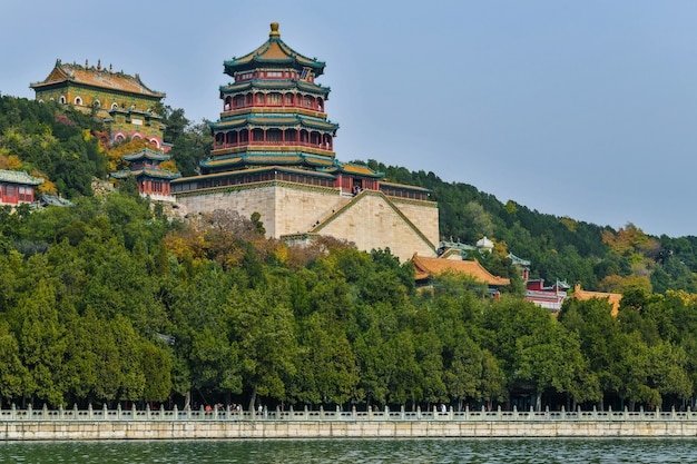 Het keizerlijke zomerpaleis in peking
