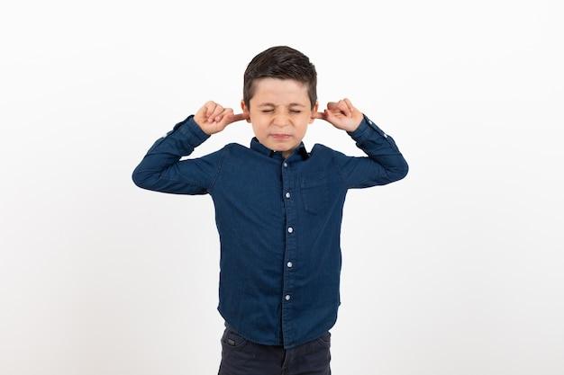 Het kind wil niet horen