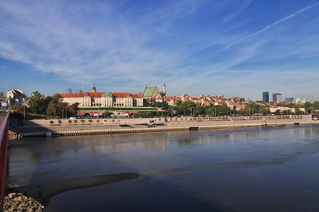 Het koninklijk kasteel in warschau, polen