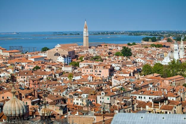 Het landschap van de romantische stad ter wereld, venetië, italië