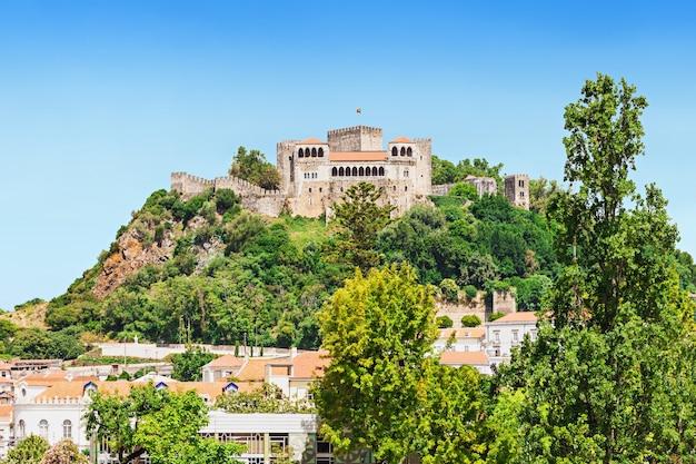 Het leiria-kasteel is een kasteel in de stad leiria in portugal