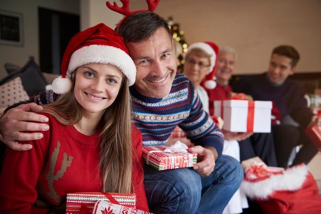 Het leukste kerstcadeau van vader
