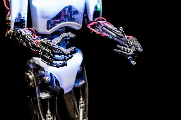 Het lichaam van de robot