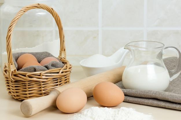 Het maken van deegwaren of bakkerijproducten
