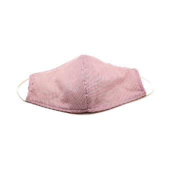 Het medische masker is handgemaakt om virussen en stof te beschermen.