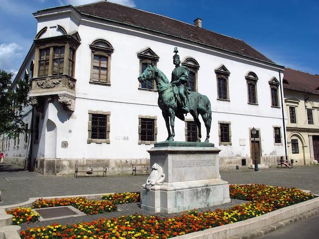 Het monument in boedapest