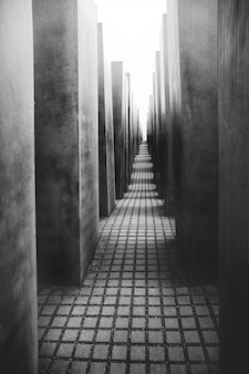 Het monument voor de vermoorde joden van europa in berlijn