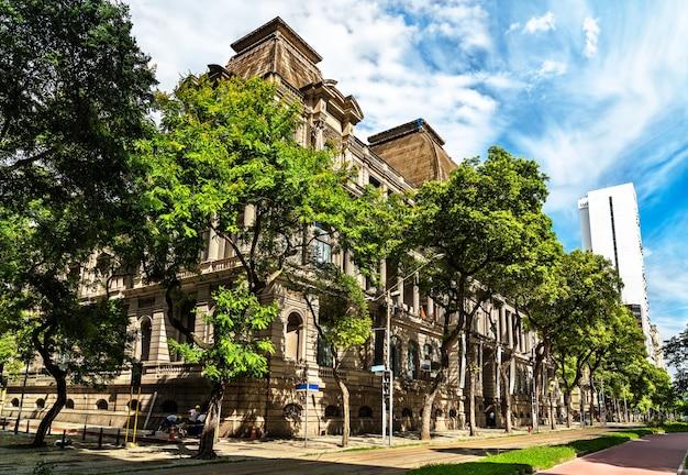 Het museu nacional de belas artes in rio de janeiro, brazilië