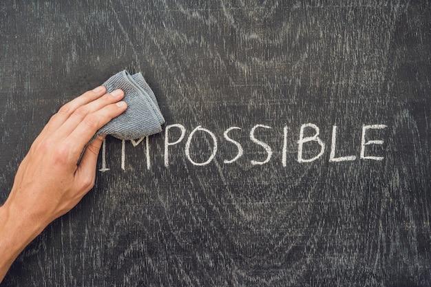 Het onmogelijke mogelijke concept maken