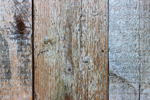 Het oppervlak van de planken is van dichtbij