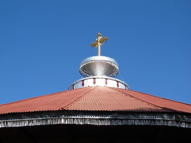 Het orthodoxe klooster in het hart van afrika, ethiopië