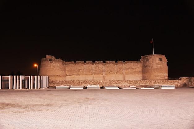 Het oude arad-fort, manama, bahrein