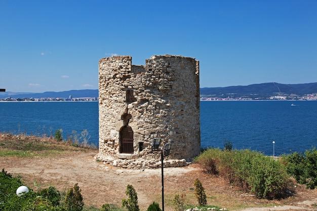 Het oude fort, nessebar, bulgarije