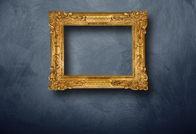 Het oude frame hangen op muur