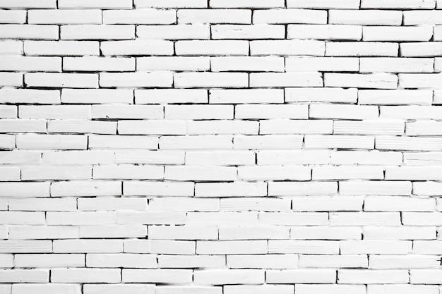 Het oude witte ontwerp van de bakstenen muurtextuur
