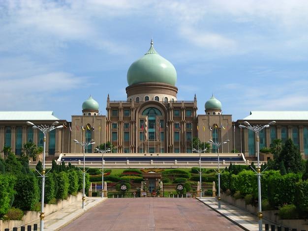 Het paleis in putrajaya, maleisië