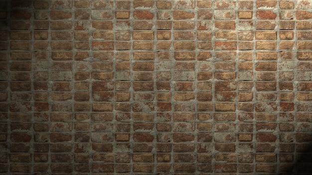 Het patroon van bakstenen