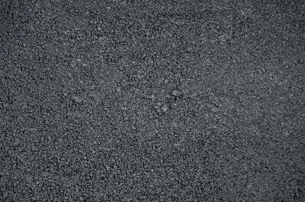 Het patroon van een asfaltweg
