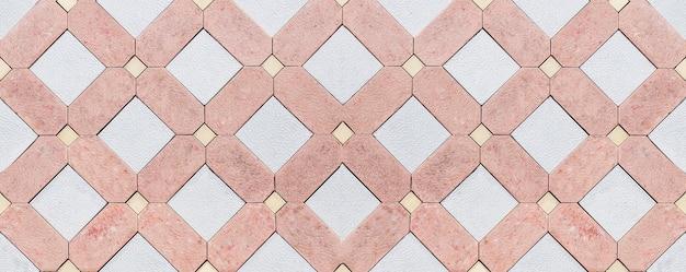 Het patroon van een stenen muur. oude kasteel stenen muur textuur achtergrond.
