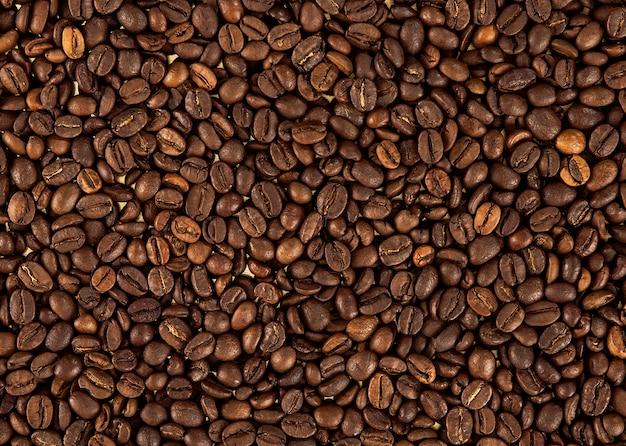 Het patroon van koffiebonen