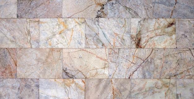 Het patroon van marmeren muur voor achtergrond.