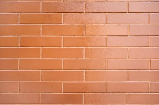 Het patroon van rode bakstenen muur