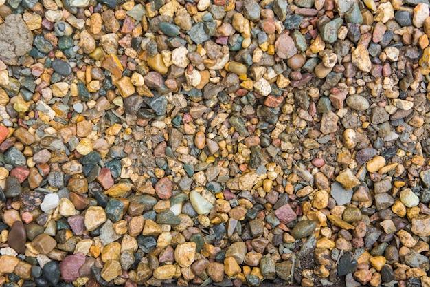 Het patroon van steenslag. achtergrond