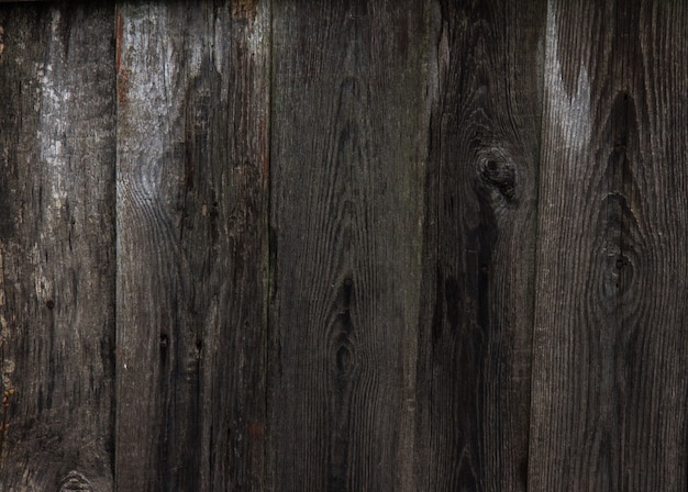 Het patroon van verweerde grijs groen houten planken.