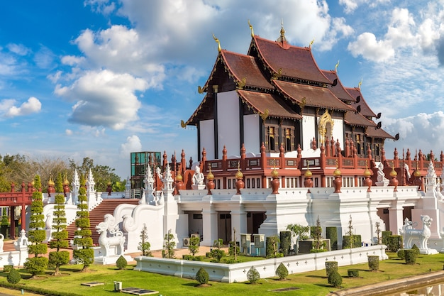 Het royal ratchaphruek park in chiang mai