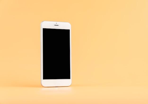 Het smartphonescherm is leeg