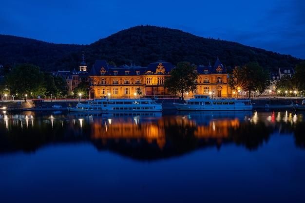 Het stadhuis van heidelberg