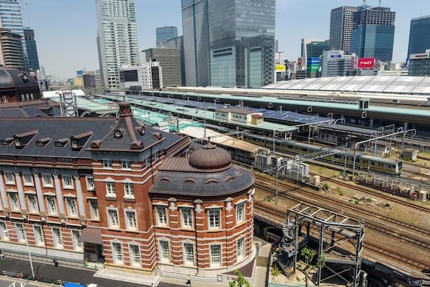 Het station van tokyo en jr-treinen, tokyo