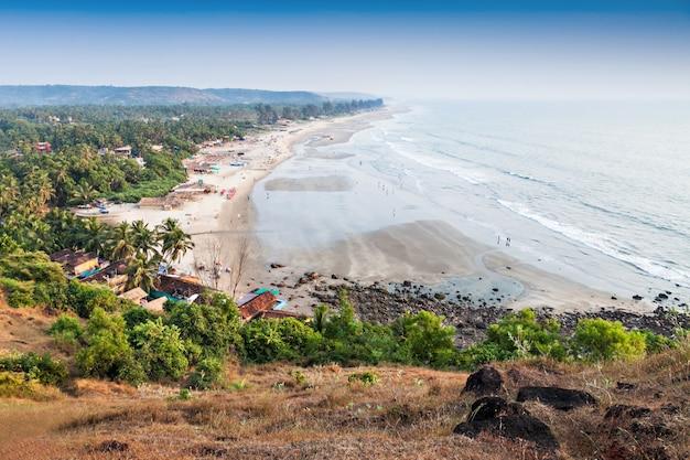 Het strand van arambol