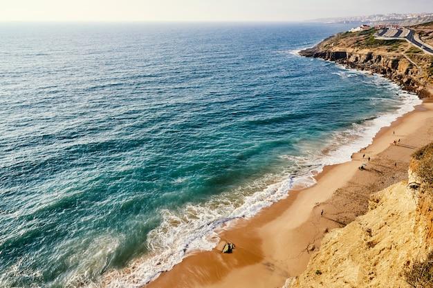 Het strand van praia sao juliao