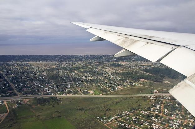 Het uitzicht op montevideo, uruguay