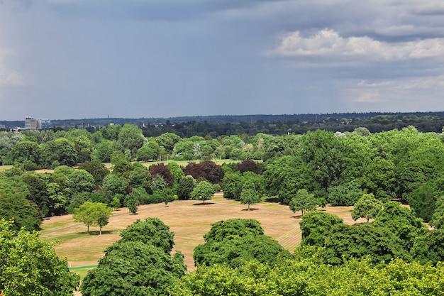 Het uitzicht vanaf windsor-kasteel in engeland