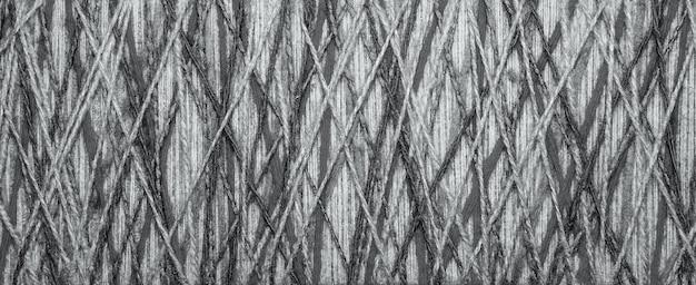 Het veelkleurige garen dat als decor wordt gebruikt. spinnenweb van draden