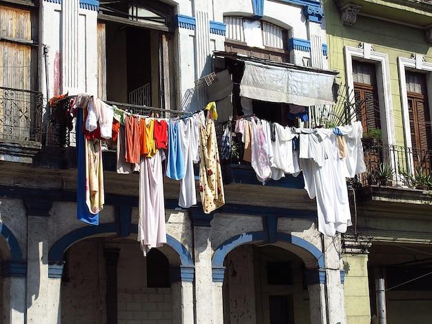 Het vintage huis in havana, cuba