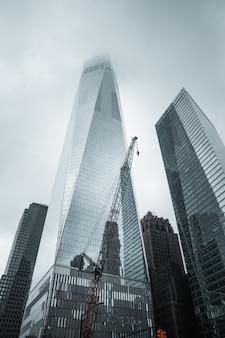 Het world trade center in new york city