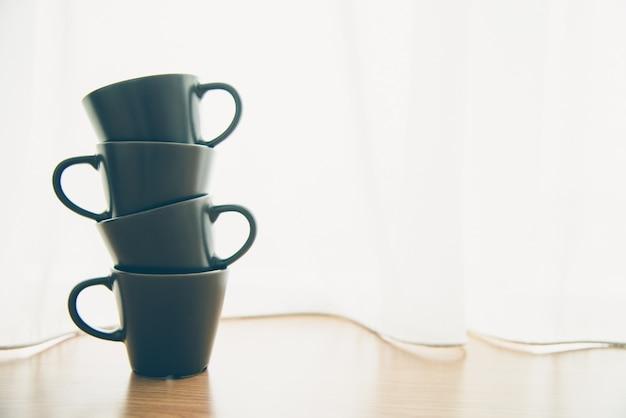 Hete espresso koffie thee voedsel