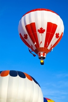 Hete lucht ballon