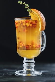 Hete thee gemaakt van duindoorn