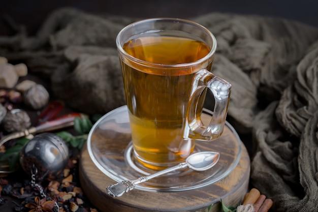 Hete thee in een kopje.