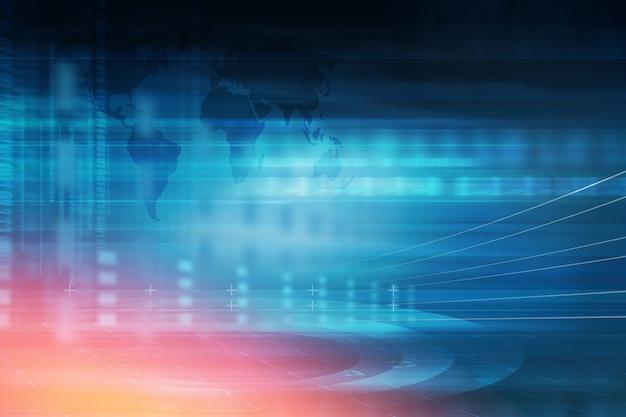 Hi-tech abstracte technische achtergrond