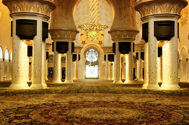 Hiekh zayed-moskee, abu dhabi