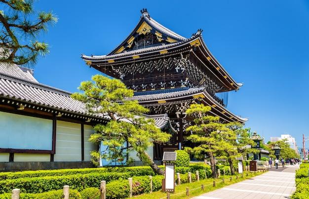 Higashi hongan-ji, een boeddhistische tempel in kyoto, japan