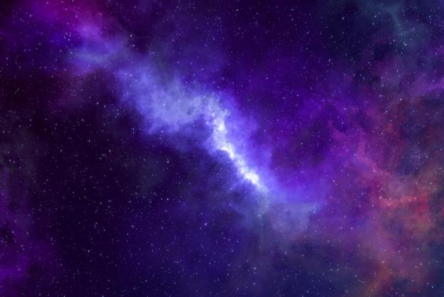High-definition ster veld, kleurrijke nachtelijke hemelruimte. nevel en sterrenstelsels in de ruimte. astronomie concept achtergrond.