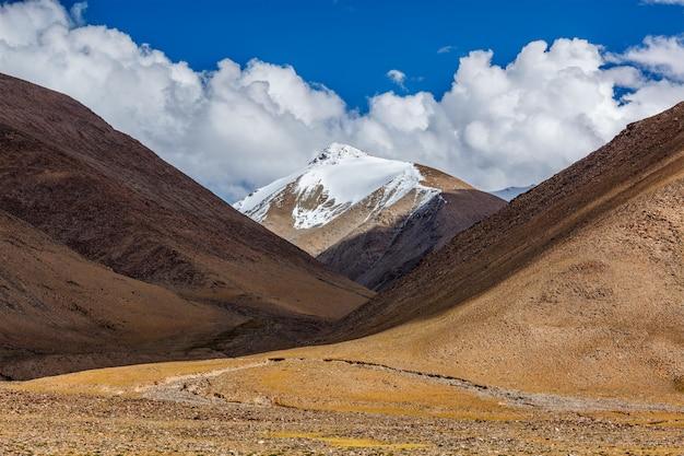 Himalaya landschap in de himalaya